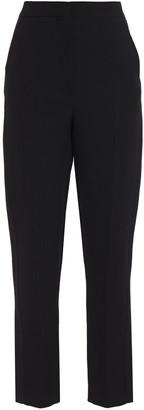 Roksanda Colwyn Satin-trimmed Crepe Slim-leg Pants