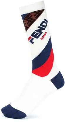 Fendi MANIA cotton-blend socks