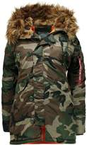 Alpha Industries Parka woodland