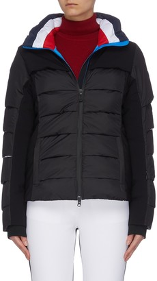 Rossignol 'Surfusion' tricolour puffer jacket