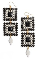 Vanessa Mooney Women's Ace Of Spades Drop Earrings