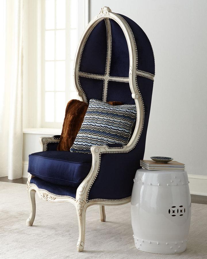 "Horchow Massoud ""Harley"" Balloon Chair"