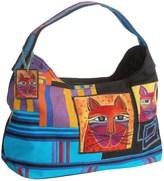 Laurel Burch Whiskered Cats Hobo Bag (For Women)