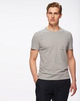 Tonal Stripe Short Sleeve Crew Neck T-shirt