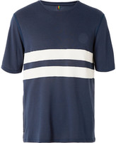 Iffley Road - Cambrian Striped Drirelease T-shirt