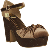 Miss L Fire Lila Wedge Heel