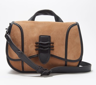 Aimee Kestenberg Leather Saddle Crossbody Bag - Fierce & Fab