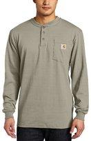 Carhartt Men's Big & Tall Workwear Pocket Long Sleeve Henley Midweight Jersey Original Fit