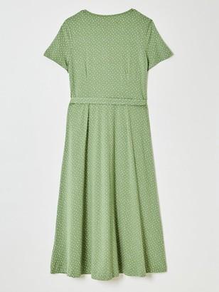 White Stuff Simple Life Dress - Green