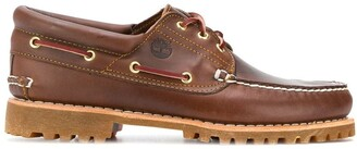 Timberland chunky sole boat shoes