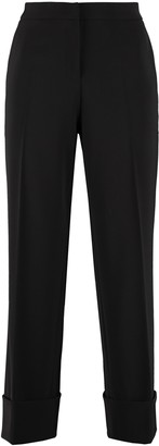 Boutique Moschino Techno Fabric Tailored Trousers