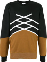 Les Benjamins two tone sweatshirt