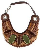 Marni Resin Bib Necklace