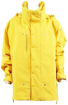 Vetements Yellow Polyester Leather jackets