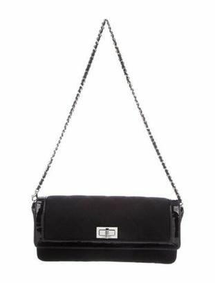 Chanel E/W Mademoiselle Flap Bag Black