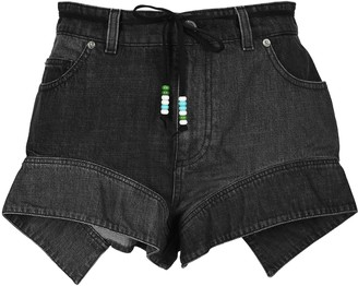 J.W.Anderson Flared Hem Denim Shorts