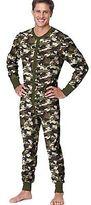 Hanes Men's X-Temp Camo Thermal Union Suit