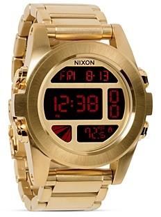 Nixon The Unit Watch in Silver, 49mm