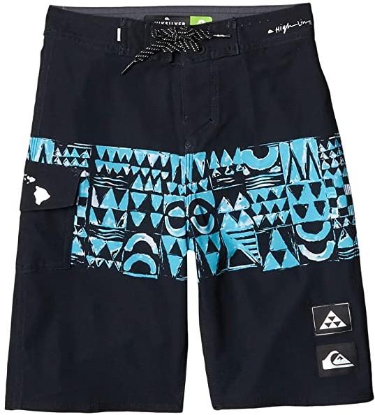 Boy/'s Money Junior Block Panel Swim Shorts in Black