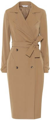 Max Mara Lucia wool gabardine midi dress