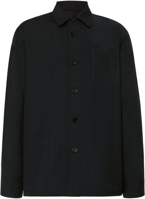 Jil Sander Arthur Wool and Mohair Shirt