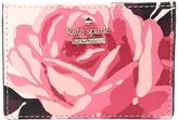 Kate Spade Cameron Street Roses Card Holder Credit card Wallet
