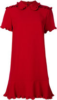 RED Valentino structured dress - women - Acetate/Viscose - 38