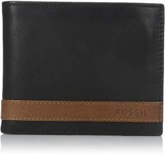 Fossil Men's Quinn Large Coin Pocket Bifold Wallet