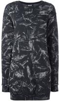 Just Cavalli abstract pattern dress - women - Cotton/Polyester - 40