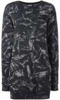 Just Cavalli abstract pattern dress