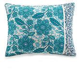 Jessica Simpson Aqua Flora Cotton Sham
