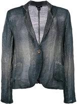 Avant Toi overdyed single breasted jacket