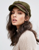 Brixton Baker Boy Hat in Khaki