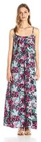 Lark & Ro Women's Tiered-Top Maxi Dress