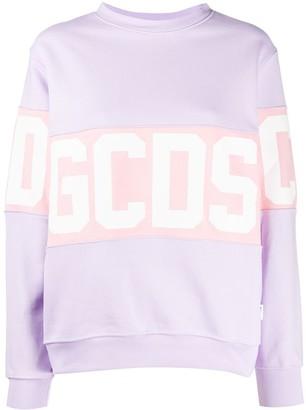 GCDS Contrast Logo Strip Sweatshirt