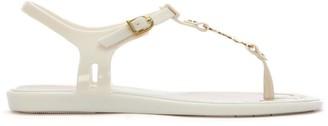 Vivienne Westwood x Melissa Solar Orb Ivory Toe Post Sandals