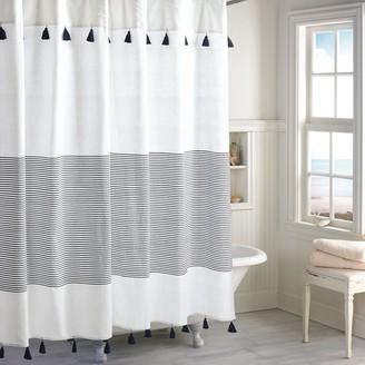 Peri Panama Stripe Shower Curtain