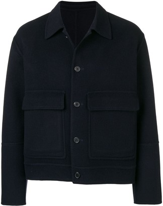 Ami Paris Patched Pockets Short Jacket