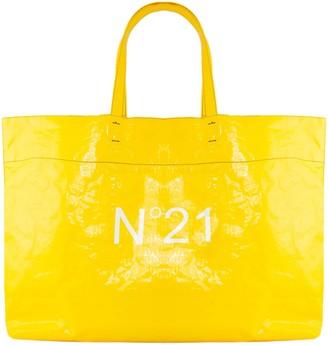 N°21 N.21 Maxi Logo-print Shopper