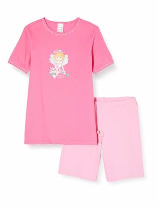 Schiesser Girl's Prinzessin Lillifee Md Schlafanzug Kurz Pyjama Set