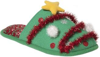 Dearfoams Unisex Novelty Holiday Slippers
