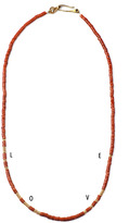 Lulu Frost George Frost G. FROST MORSE NECKLACE - LOVE