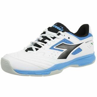 Diadora Men's Speed Challenge 2 Carpet Teppichschuh Herren-Wei Turkis Tennis Shoes