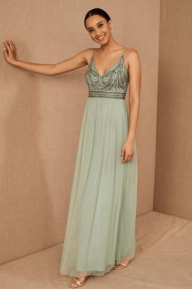BHLDN Vilette Dress By in Green Size 2