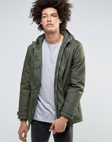 Minimum Carlow Hooded Parka Quilted Lining