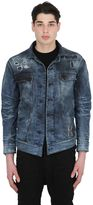 11 By Boris Bidjan Saberi Destroyed Washed Cotton Denim Jacket