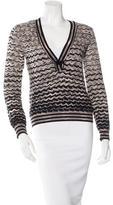 M Missoni Patterned Wool Sweater