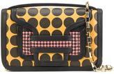 Pierre Hardy contrast print satchel bag