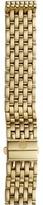 Michele 16mm Deco 16 Gold 7-Link Bracelet Watches