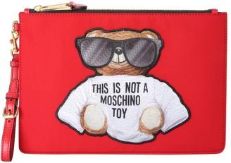 Moschino Teddy Clutch Bag